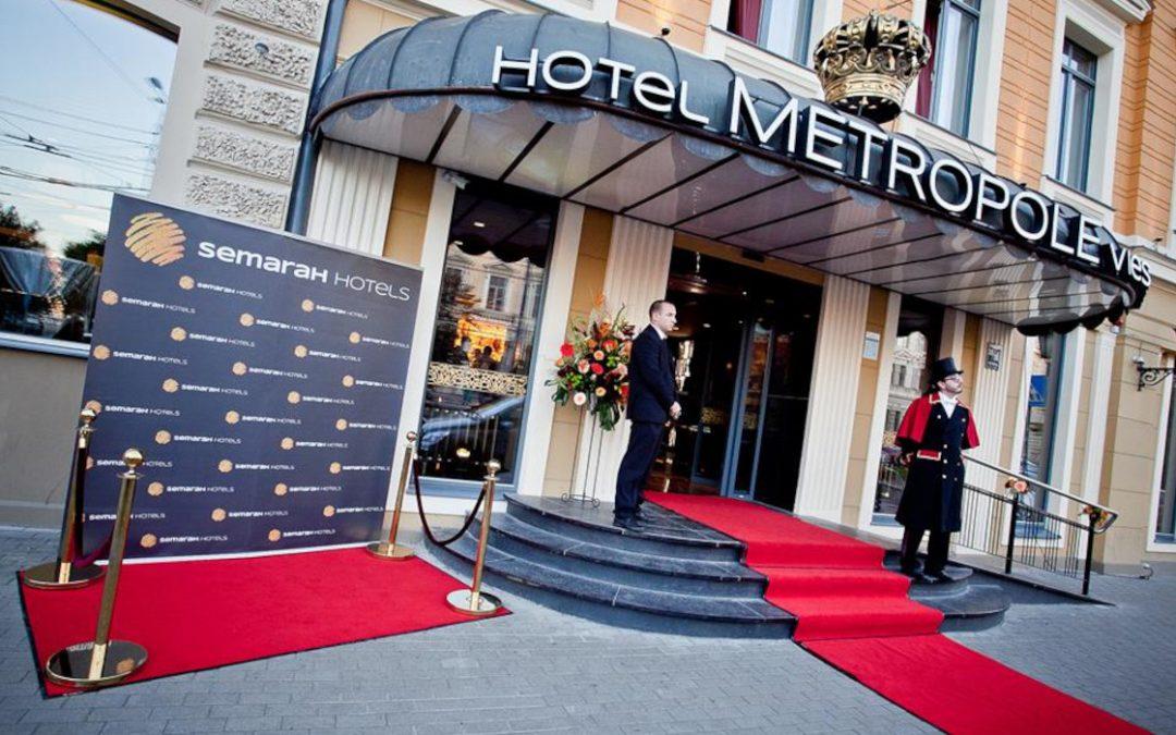 Pēc rekonstrukcijas Rīgā atklāj viesnīcu Metropole