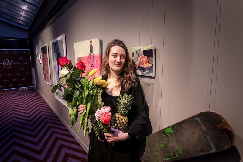 Открылась персональная выставка художницы Эллы Межуле